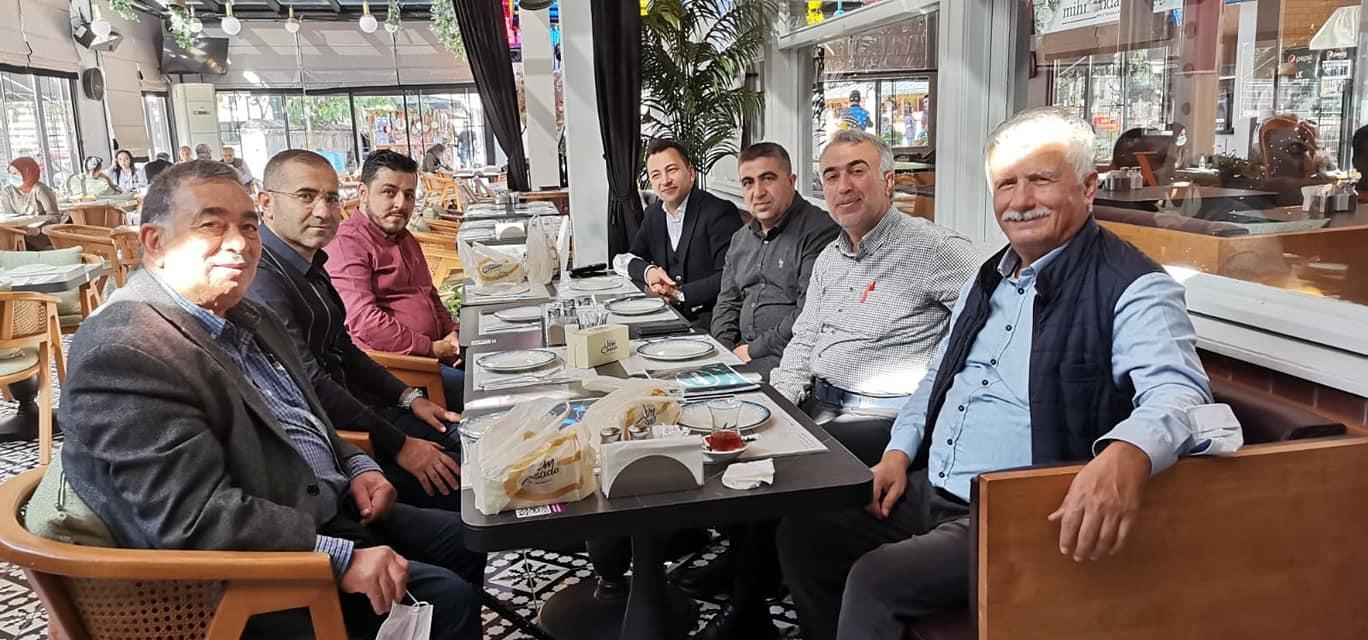 Giresun Sağlık Platformu Üyeleri Eyüp Sultan'da Toplandı