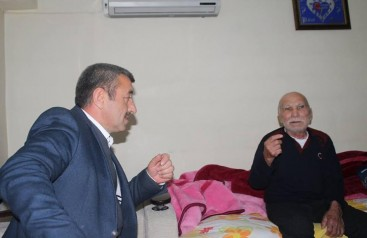 Başkan Kırhasanoğlu Hasta Ziyaretinde Bulundu