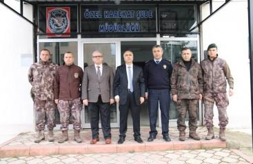 Vali Karahan Özel Harekât Şube Müdürlüğünde