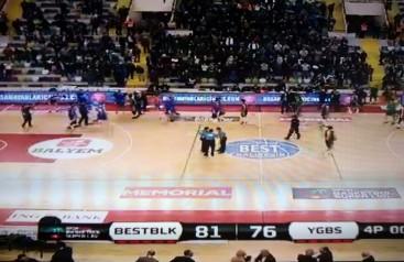 Best Balıkesir-Yeşilgiresun Belediyespor: 81-76
