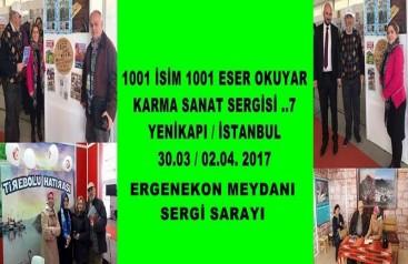 Güvenç VİDEOLARI ve Ismayıl ŞİİRLERİ YENİKAPI'DA sergilendi