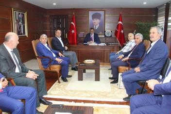 AK Partili Belediye Başkanlarından Valimize Hayırlı Olsun