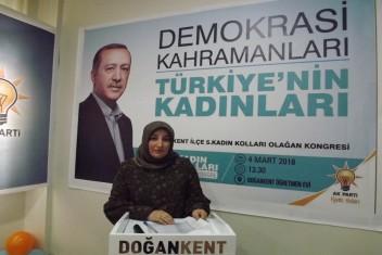 AK Parti Doğankent İlçe Kadın Kolları Başkanlığı Seçimi
