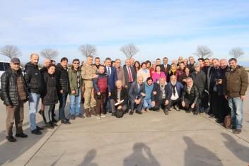 Vali Sarıfakıoğulları, Gazeteciler Gününde Gazetecilerle Kahvaltıda