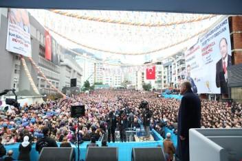 Cumhurbaşkanı Erdoğan Giresunlulara