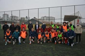 Bulancakspor'a BUFED'den destek