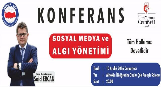 Ercandan Sosyal Medya ve Algı Yönetimi