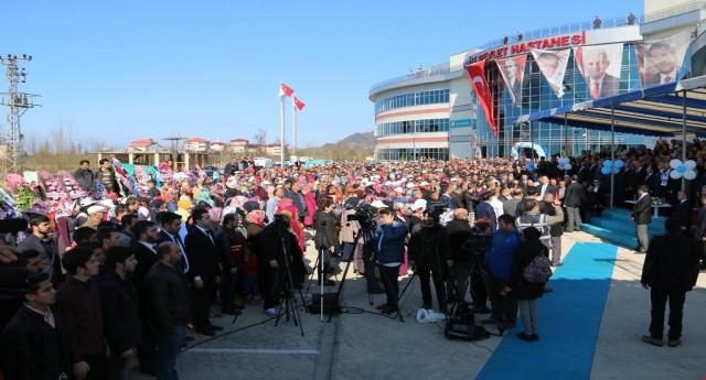 Başbakan Yardımcımızdan Hastane Açılışı