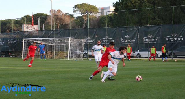 Giresunspor Antalyaspor'a 3-2 mağlup