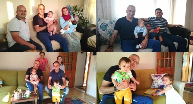 Başkan Yakar, bebek ziyaretlerine devam