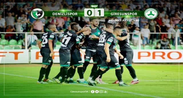 Denizlispor: 0 - Giresunspor: