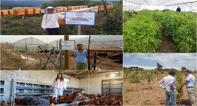 Genç Çiftçiler Üretmeye Devam