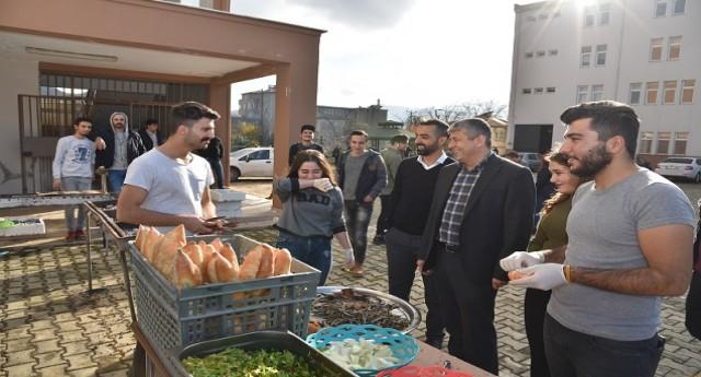 Başkan Mustafa Karadere Hamsi Festivaline