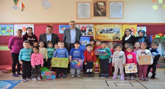 Başkan Yakar, öğrencilerle