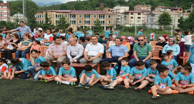 Bulancak Belediyesi Yaz Spor Okulu Törenle