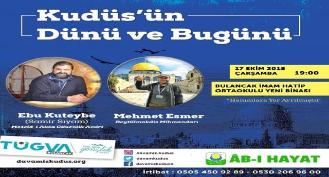 Bulancak'ta Kudüs Konferansına
