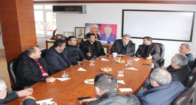 AK Parti Adayı Şenlikoğlu Sanayi Kooperatifini Ziyaret