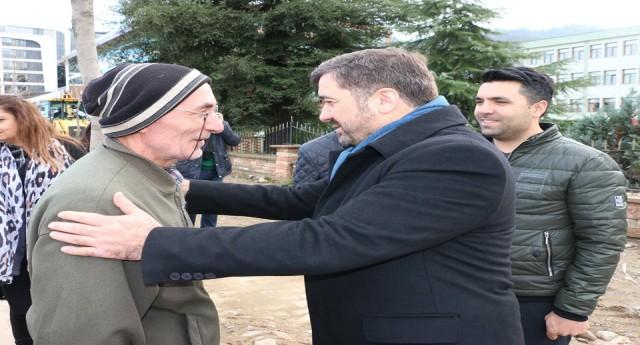 Şenlikoğlu esnaf ve mahalle ziyaretlerine devam