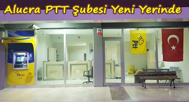 Alucra PTT Şubesi Yeni Yerinde Hizmet