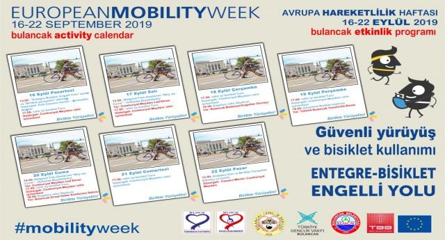 Bulancak'ta Avrupa Hareketlilik Haftası kutlanacak!
