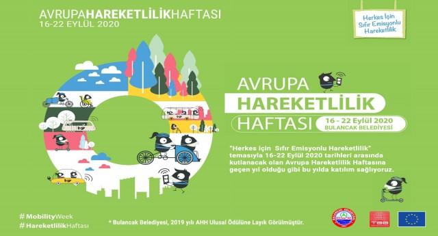 """Bulancak'ta """"Avrupa Hareketlilik Haftası"""" kutlanacak!"""