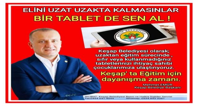 ELİNİ UZAT UZAKTA KALMASINLAR, BİR TABLET DE SEN