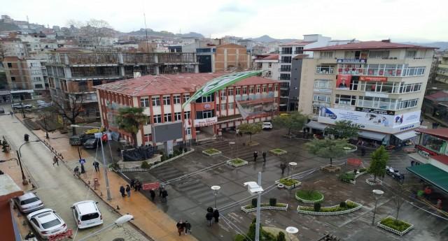 Yeni Belediye Hizmet Binası'nda son kata