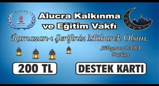 ALUCRA VAKFI BAYRAM SEVİNCİ
