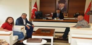 Başkan Karadere'den İl Emniyet Müdürüne Hayırlı Olsun Ziyareti