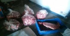 Bulancak'ta 700 kilo domuz eti ele geçirildi!