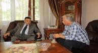 Bakan yardımcısı A.Baha Öğütken ile