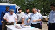 Rektör Prof. Dr. COŞKUN Kurulan Stantları