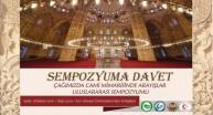 Uluslararası Cami Mimarisi Sempozyumu Giresunda