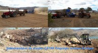 Şebinkarahisar'da Araziler ÇATAK Projesiyle Üretime