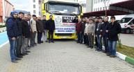 Giresundan Halepe Yardım