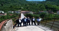 Kuzgun ve Ketençukur'a Beton Köprü