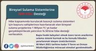 Bireysel Sulama Sistemlerine %50 Hibe Desteği
